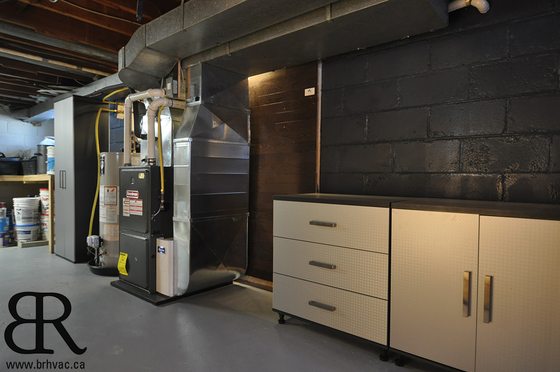 modern mechanical room
