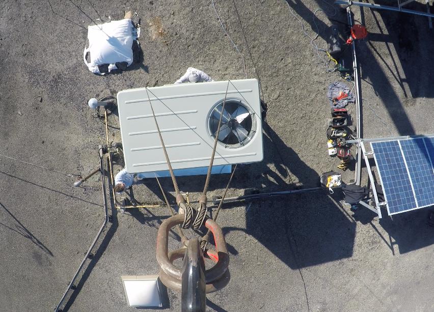 Ward Crane American Standard Rooftop Unit